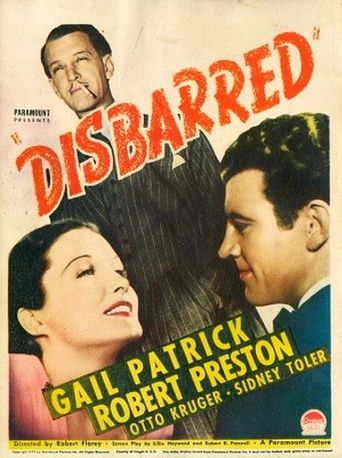Disbarred Poster
