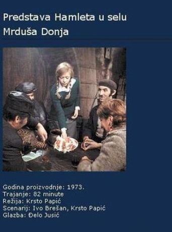 Acting Hamlet in the Village of Mrdusa Donja Poster