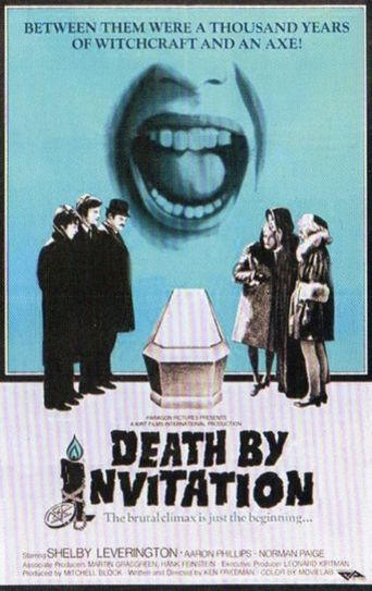 Death by Invitation Poster
