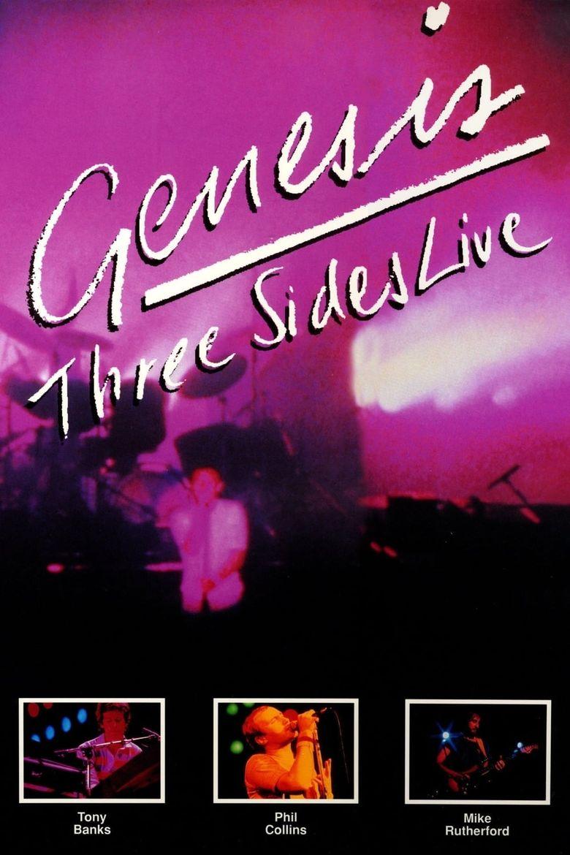 Genesis: Three Sides Live Poster