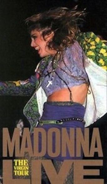 Madonna: The Virgin Tour Live Poster
