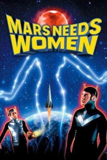 Mars Needs Women Poster
