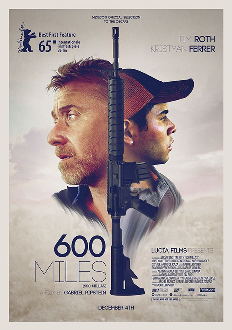 600 Miles Poster