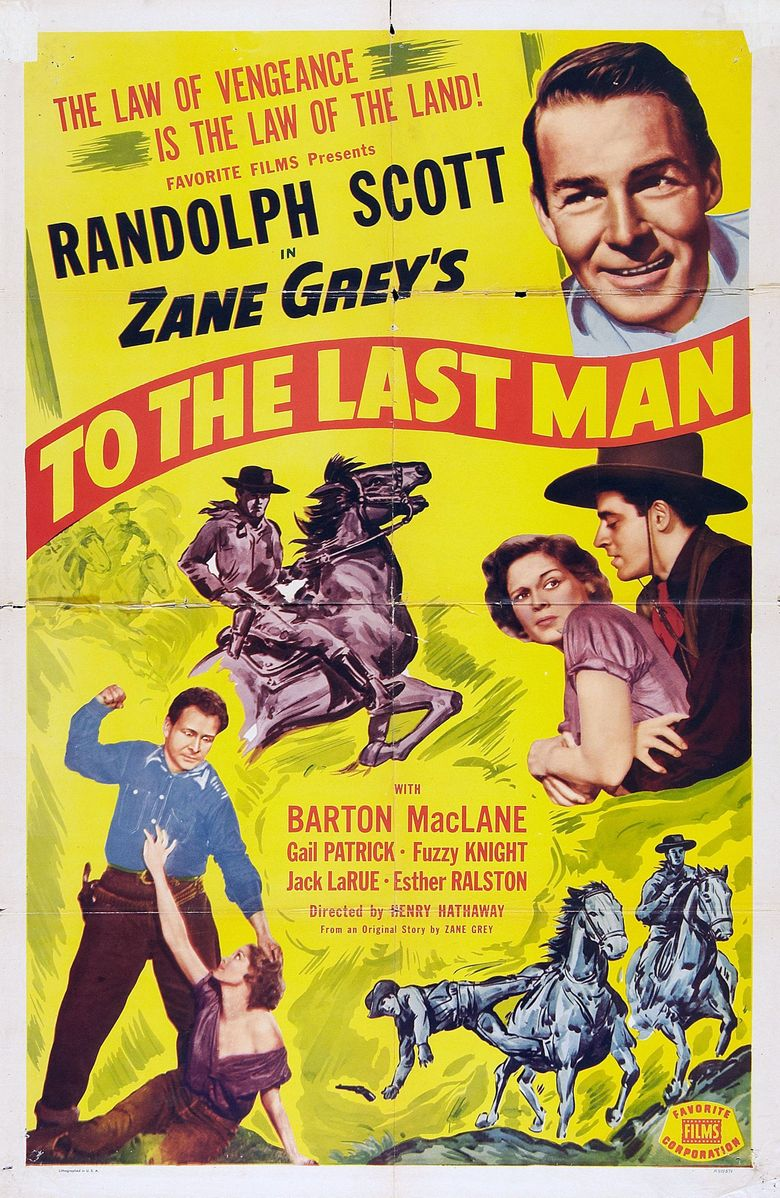 To the Last Man Poster