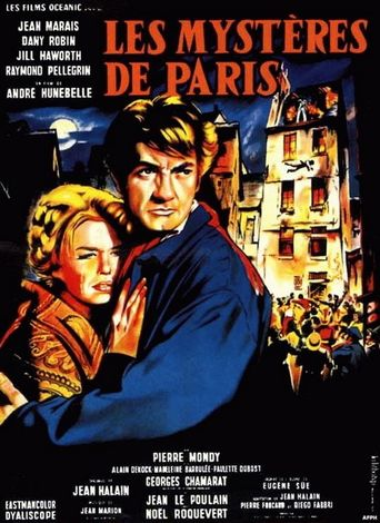 The Mysteries of Paris Poster