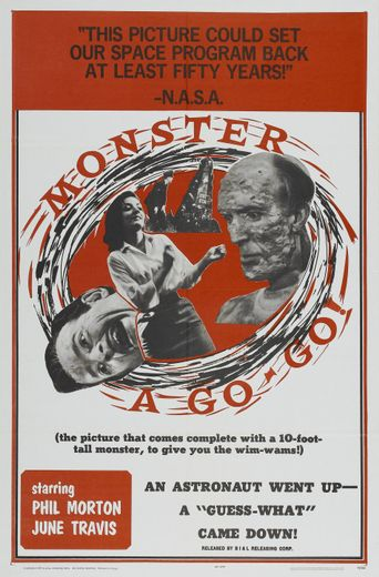 Monster a-Go Go Poster