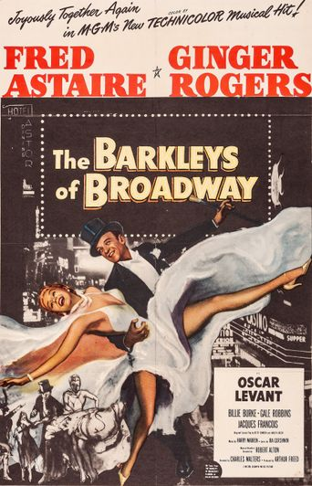 The Barkleys of Broadway Poster