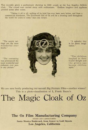 The Magic Cloak of Oz Poster