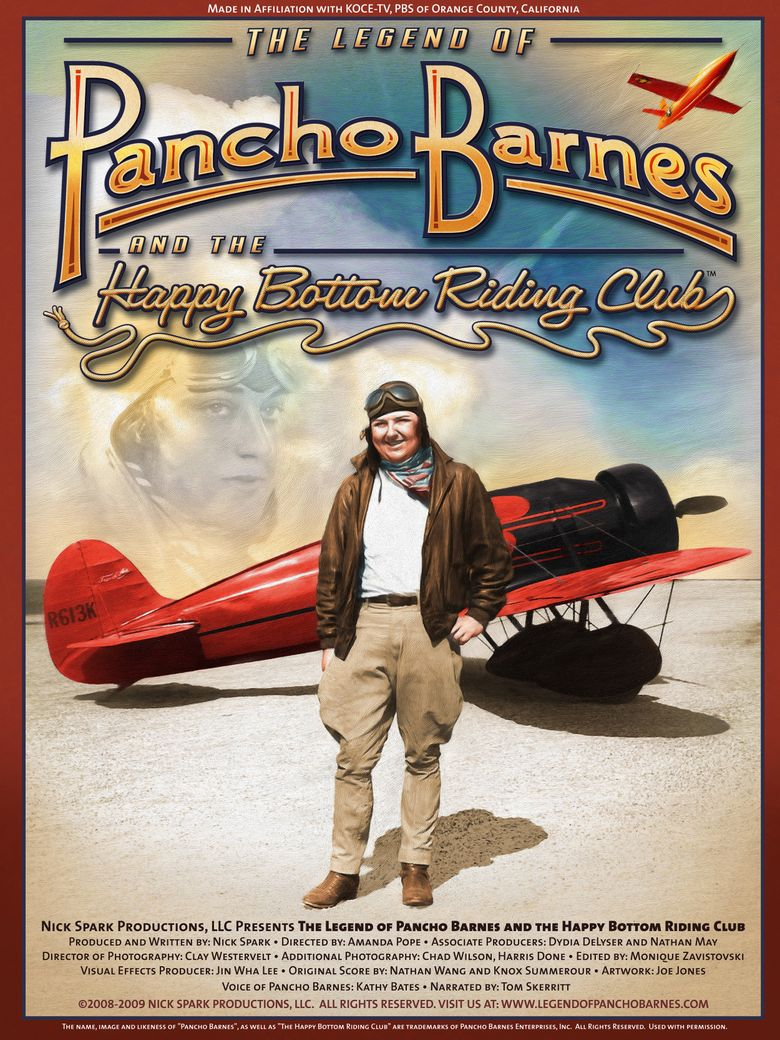 The Legend of Pancho Barnes and the Happy Bottom Riding Club Poster
