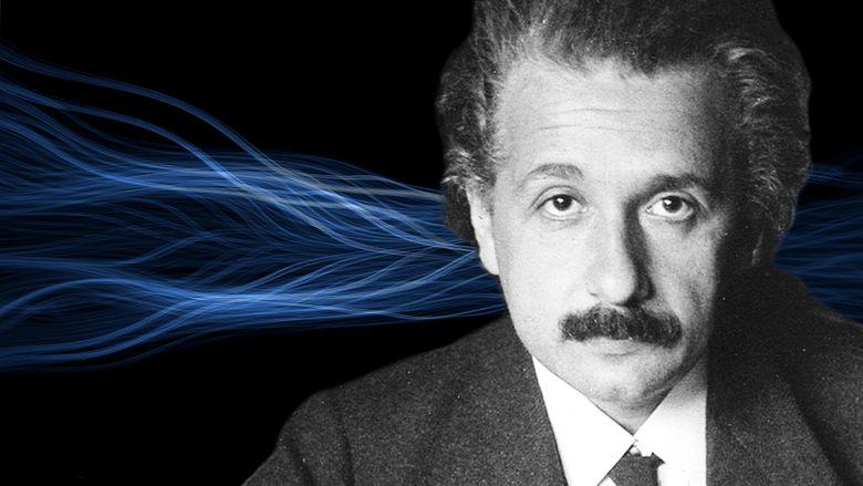 Einstein's Quantum Riddle Poster