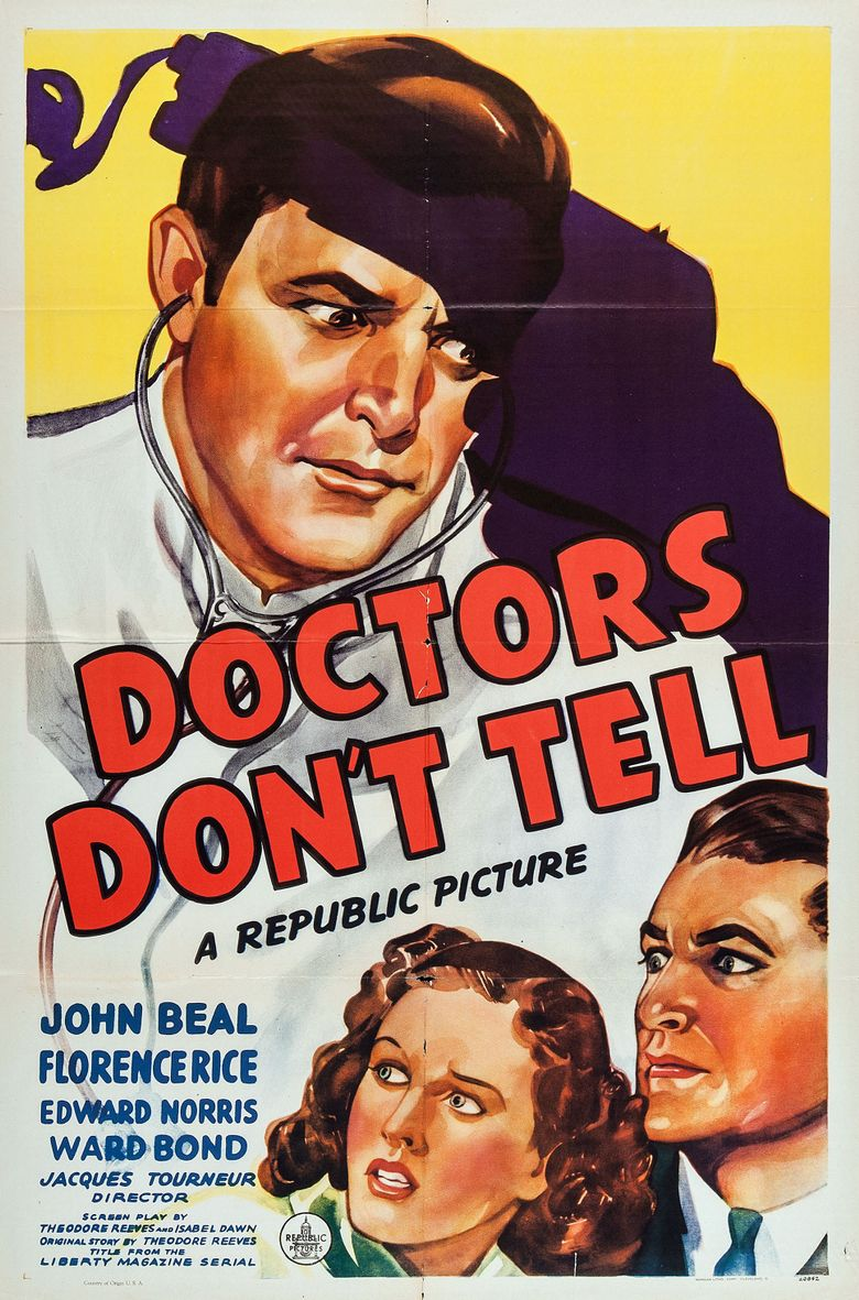 Doctors Don't Tell Poster