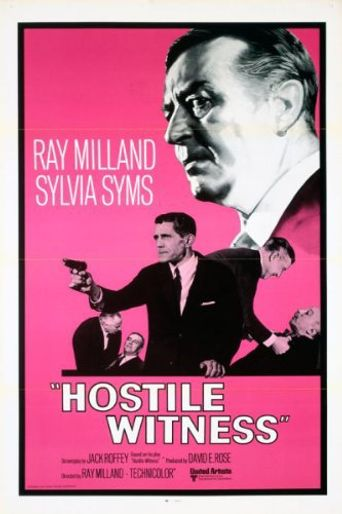 Hostile Witness Poster