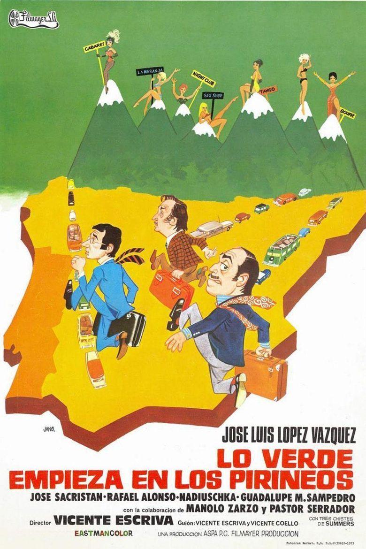 Lo verde empieza en los Pirineos Poster