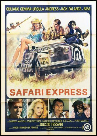 Safari Express Poster