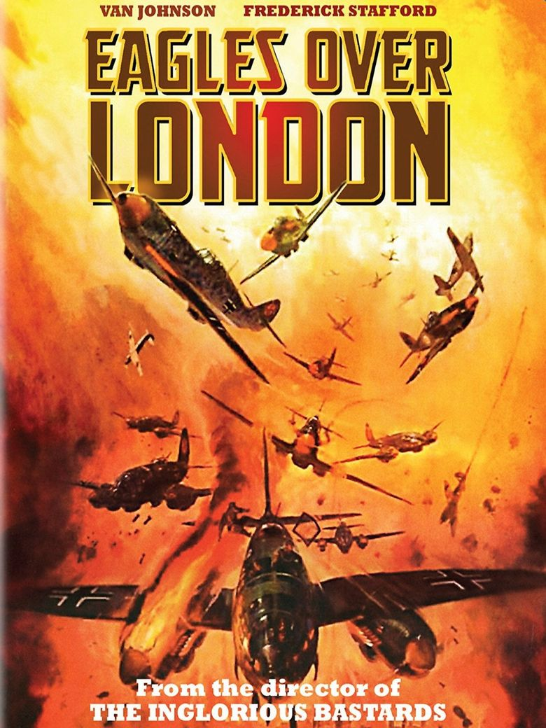 Eagles Over London Poster