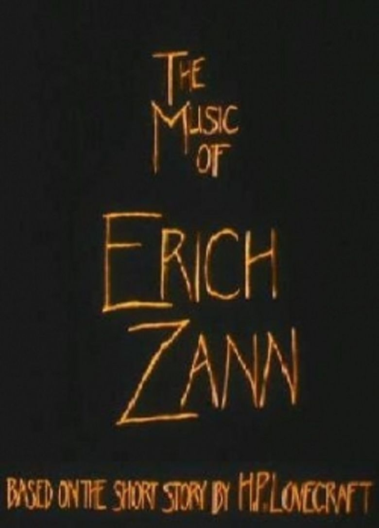 The Music of Erich Zann Poster