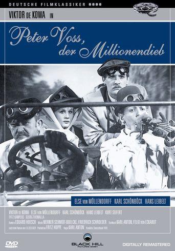 Peter Voss, der Millionendieb Poster