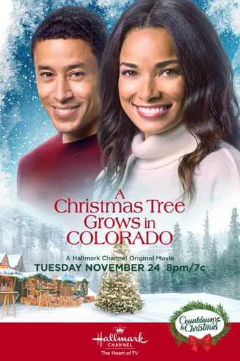 A Christmas Tree Grows in Colorado Poster
