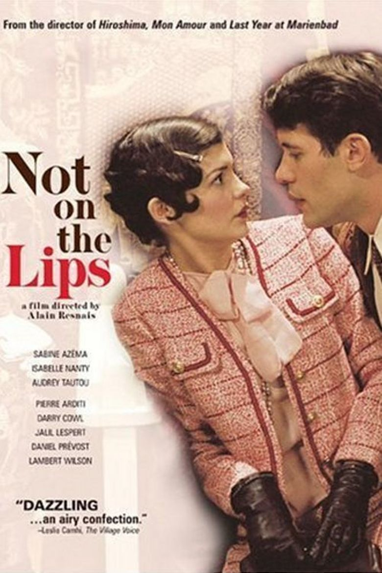 Not on the Lips Poster