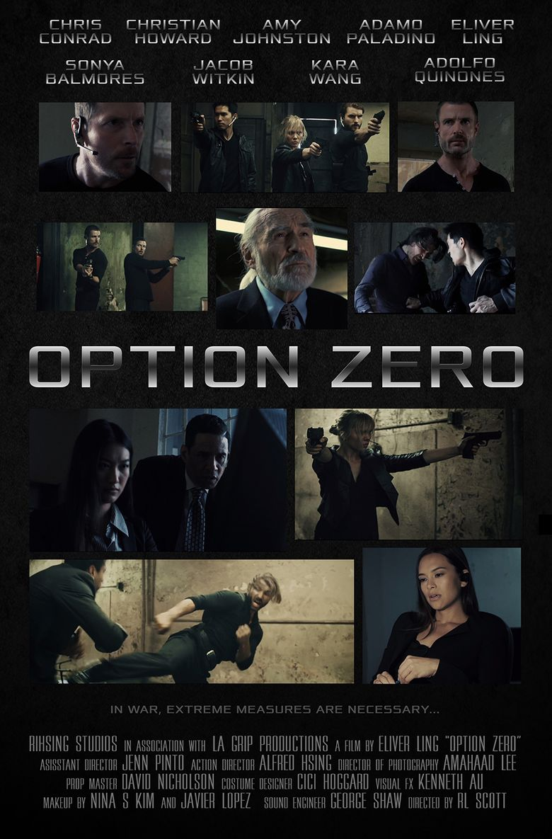 Option Zero Poster