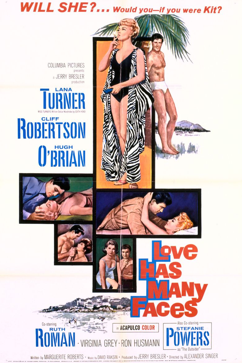Love Has Many Faces Poster