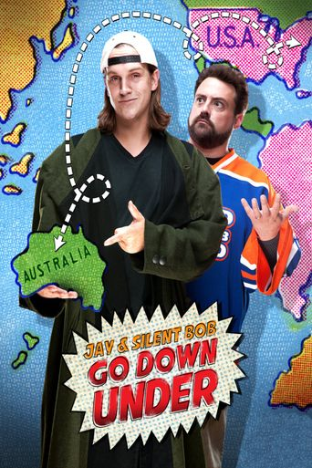 Jay and Silent Bob Go Down Under Poster