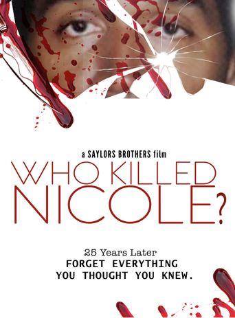 Who Killed Nicole? Poster