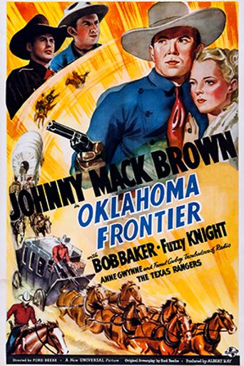 Oklahoma Frontier Poster