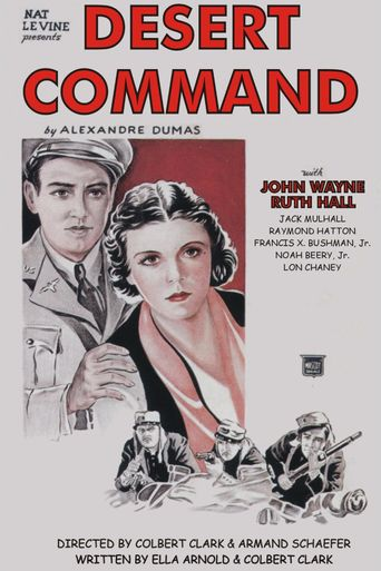 Desert Command Poster