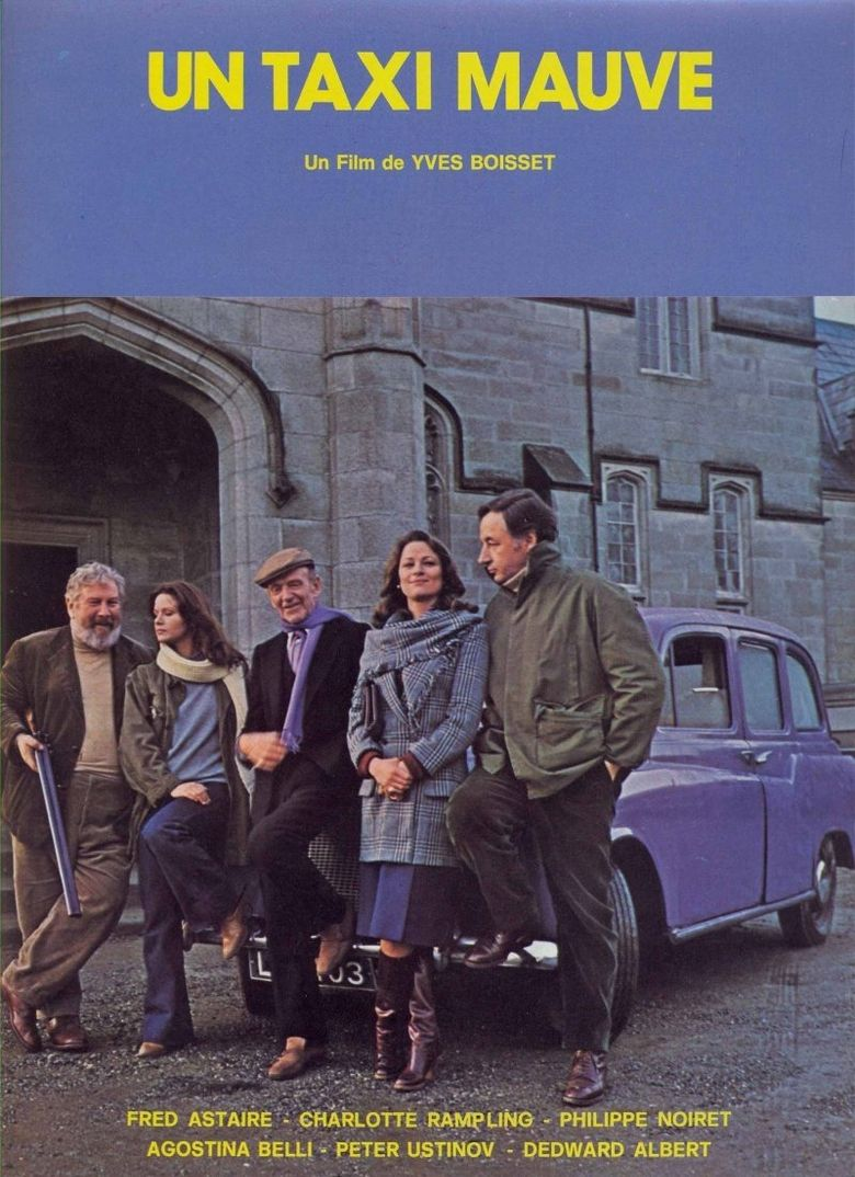 The Purple Taxi Poster