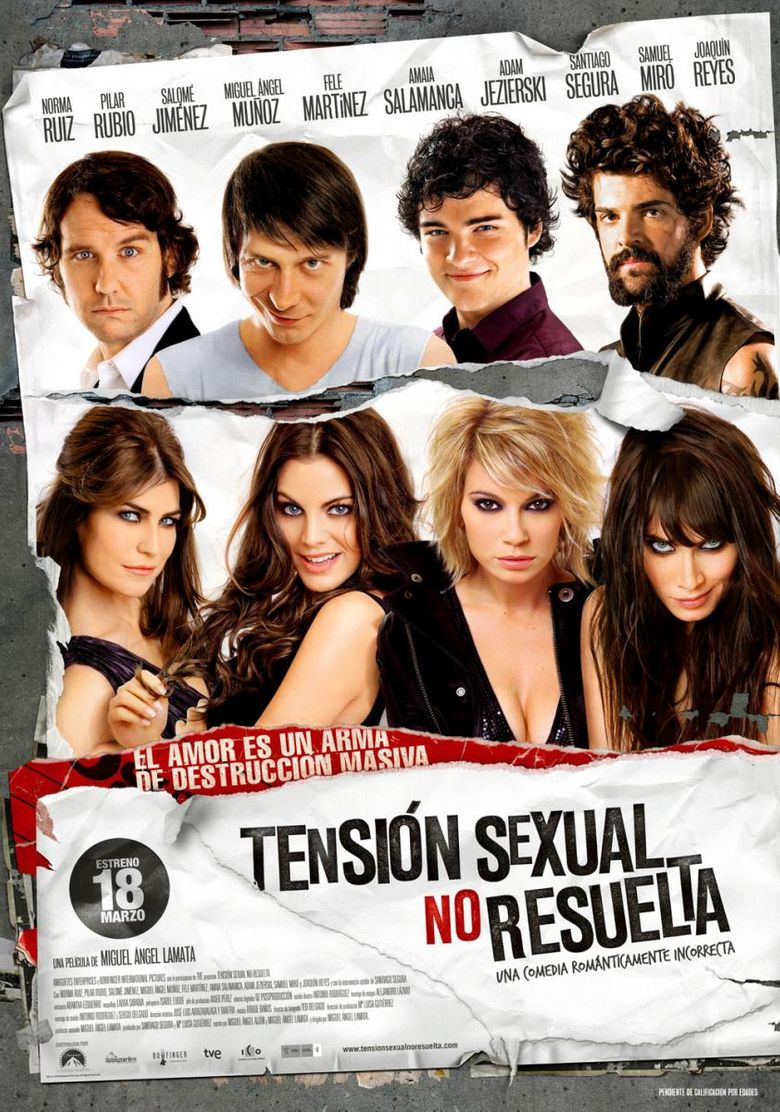Unresolved Sexual Tension Poster