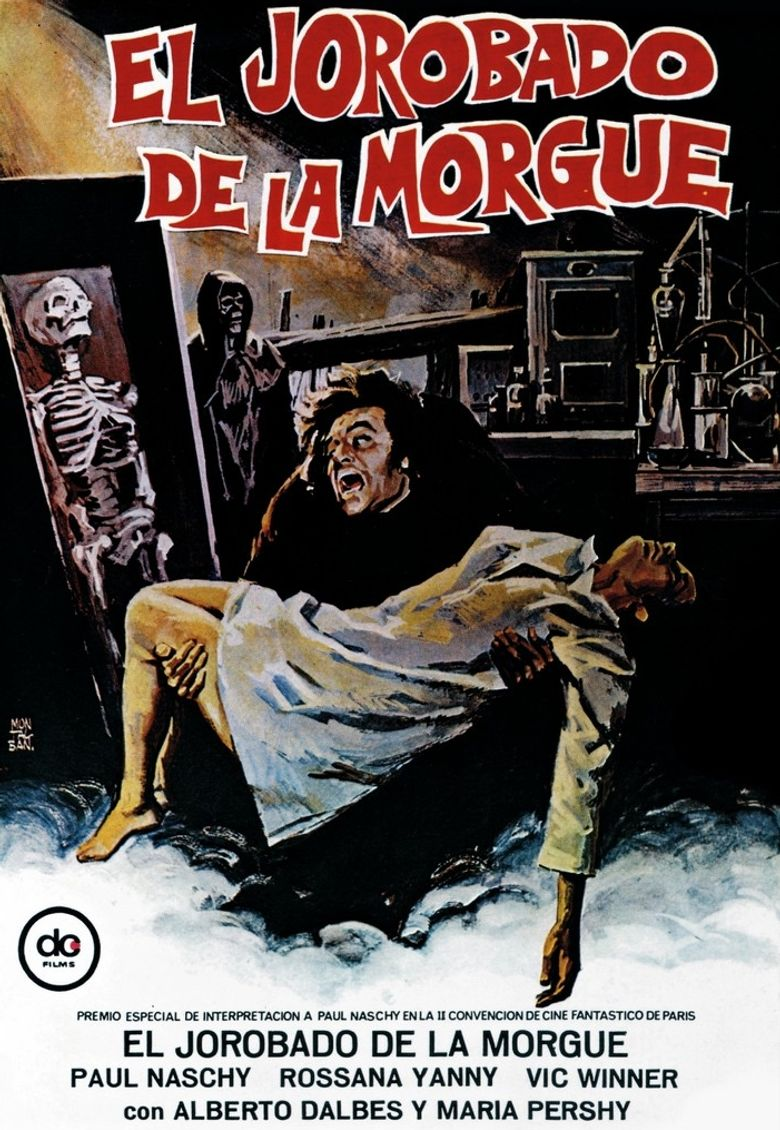 Hunchback of the Morgue Poster