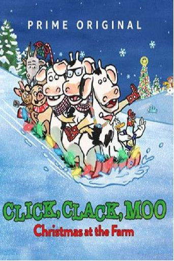 Click, Clack, Moo: Christmas at the Farm Poster