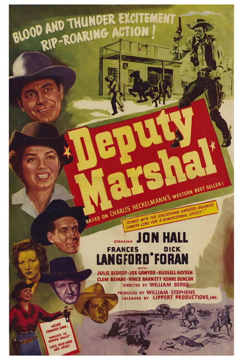 Deputy Marshal Poster