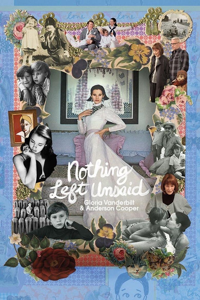 Nothing Left Unsaid: Gloria Vanderbilt & Anderson Cooper Poster