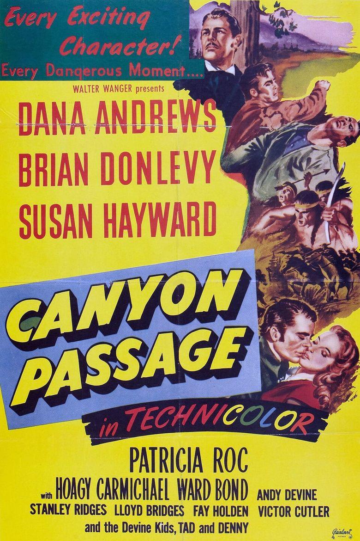 Canyon Passage Poster