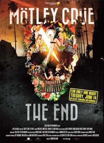 Motley Crue: The End Poster