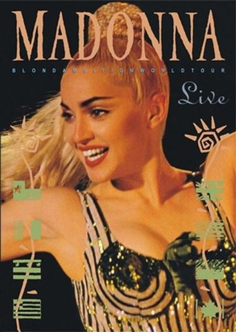 Madonna: The Blond Ambition Tour Poster