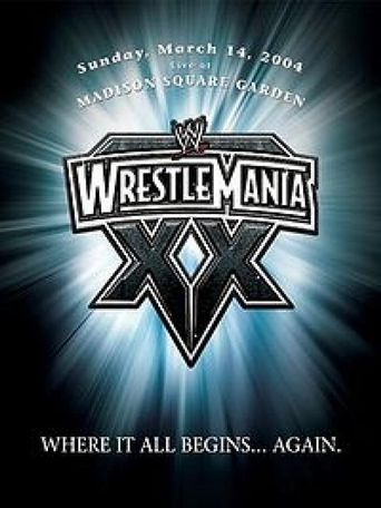 WWE WrestleMania XX Poster