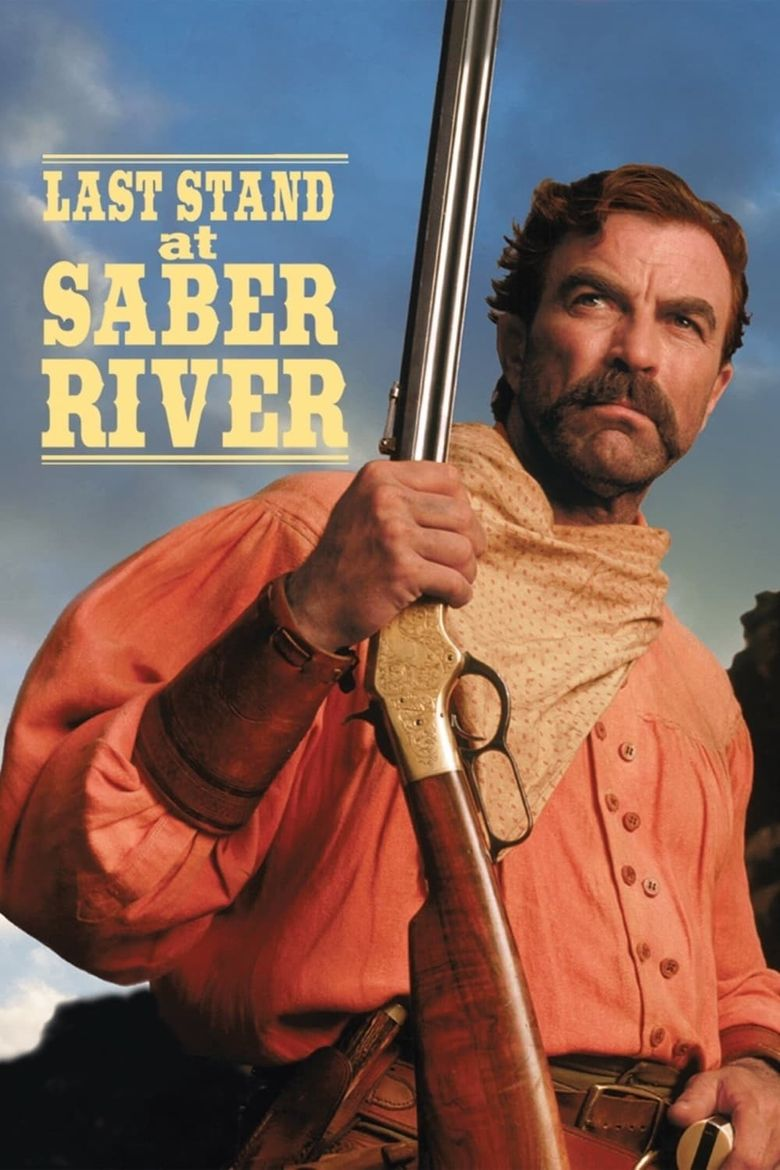 Last Stand at Saber River Poster