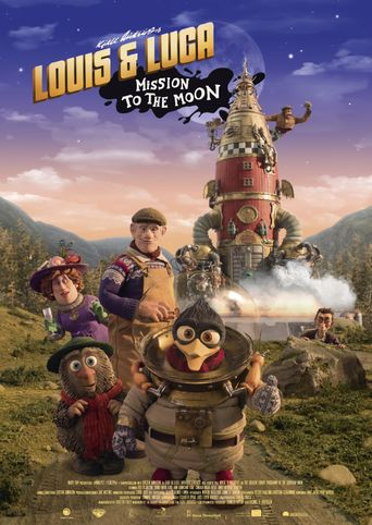Louis & Luca: Mission to the Moon Poster