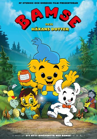 Bamse and the Witch's Daughter Poster