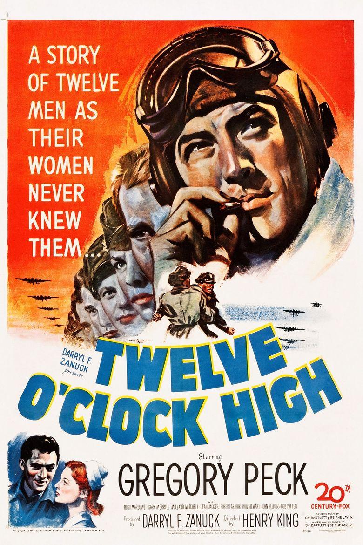 Twelve O'Clock High Poster