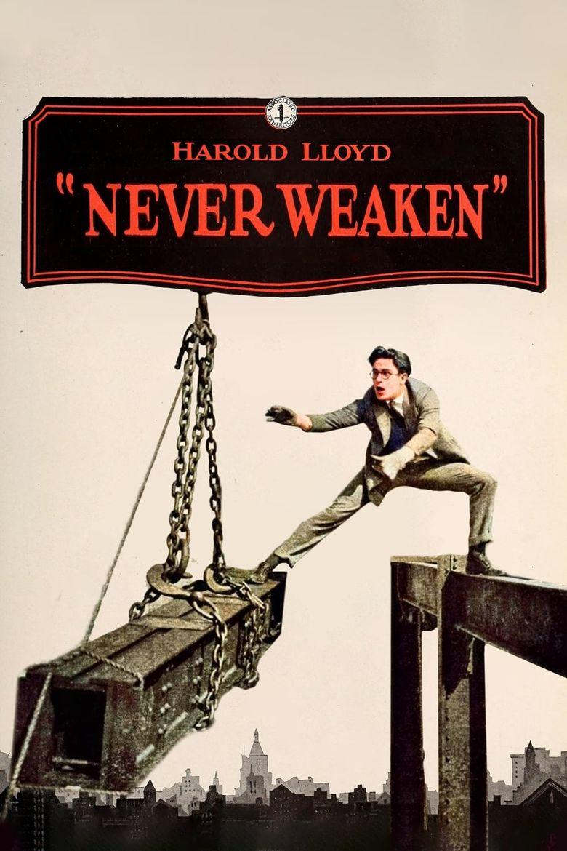 Never Weaken Poster