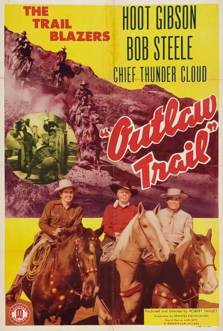 Outlaw Trail Poster