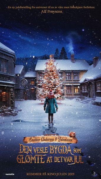 Snekker Andersen og Julenissen - Den vesle bygda som glømte at det var jul Poster