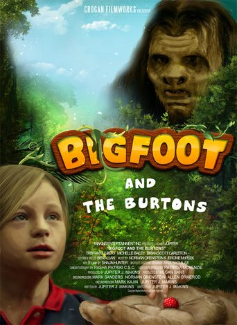 Bigfoot and the Burtons Poster