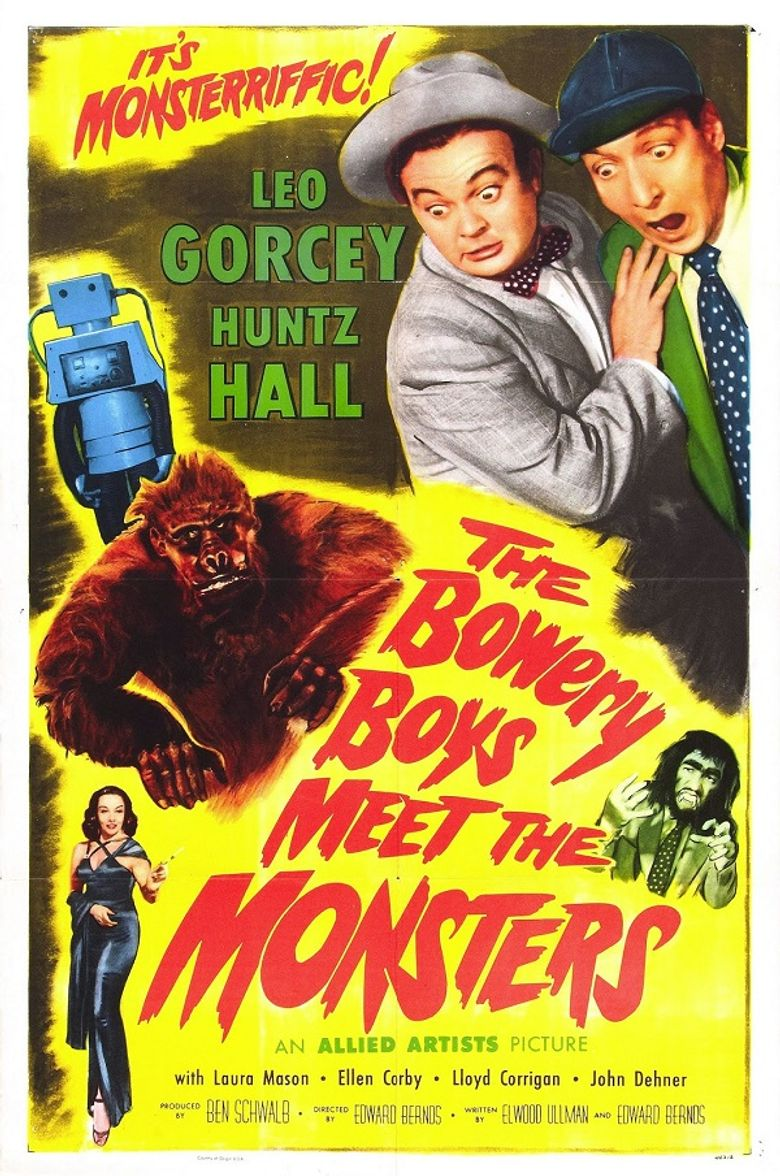 The Bowery Boys Meet the Monsters Poster