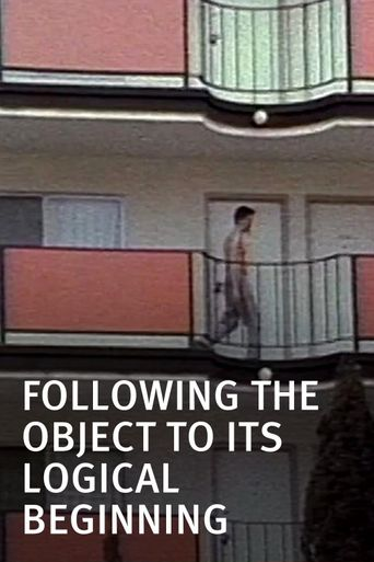 Following the Object to Its Logical Beginning Poster