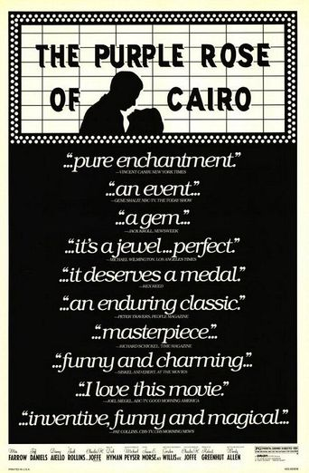 Watch The Purple Rose of Cairo